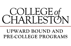 Image of a logo that reads College of Charleston Upward Board and Pre-College Programs